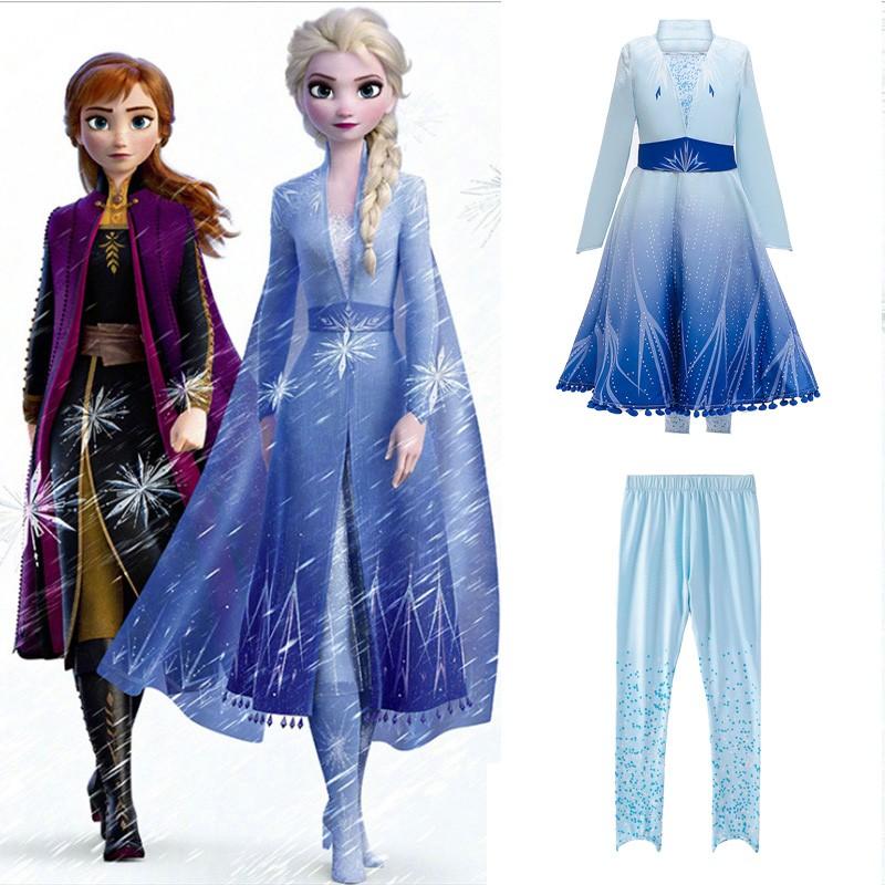Frozen 2 Prinsessa Mekko Elsa Mekko Lapsille
