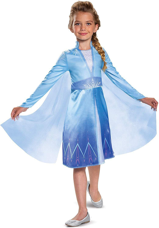 Frozen 2 Puku Prinsessa Elsa Mekko Lapsille
