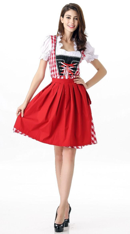 Saksalainen Baijerilaismekko Oktoberfest Asu