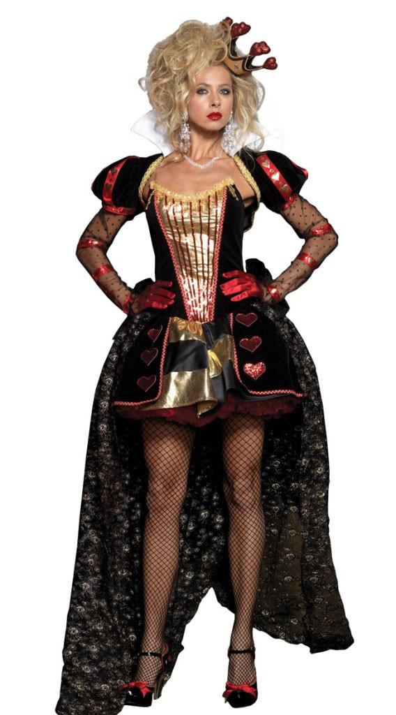 Alice In Wonderland Deluxe Herttakuningatar Asu