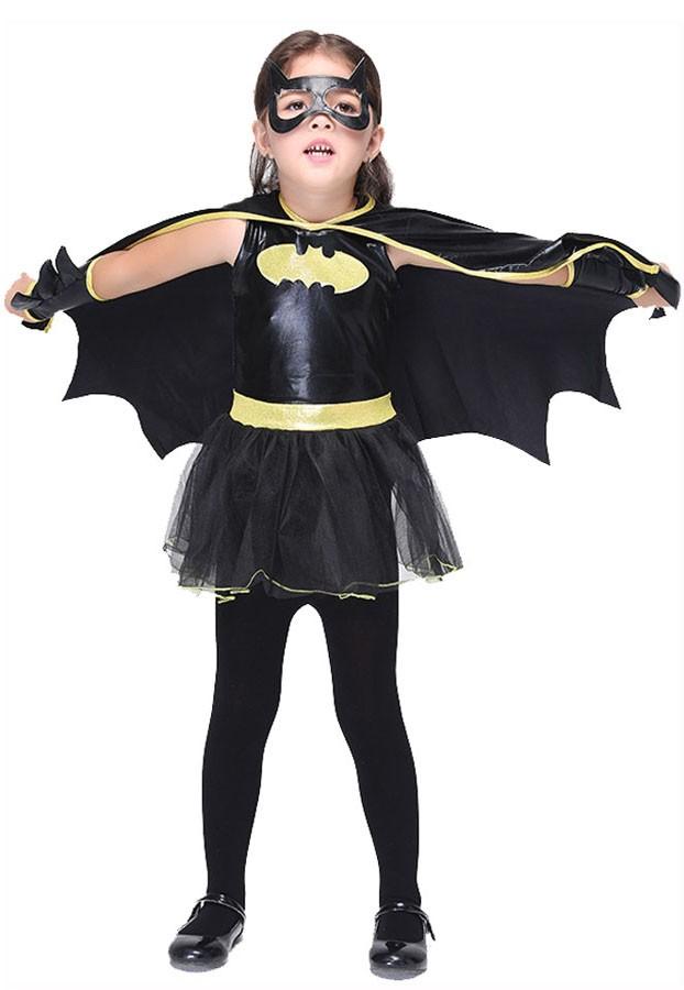 Halloween Batgirl Asu Lapselle Supersankari Asut