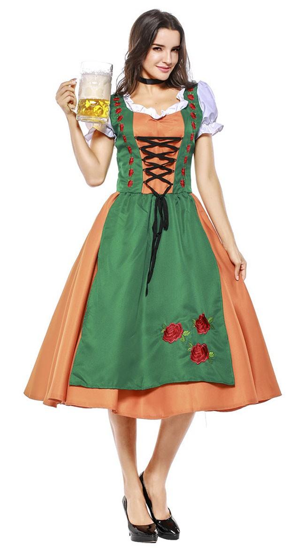Tirolilaisasu Oktoberfest Asu Naisille Vaatteet