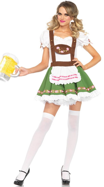 Sweetie Tirolilaisasu Oktoberfest Mekko Vaatteet