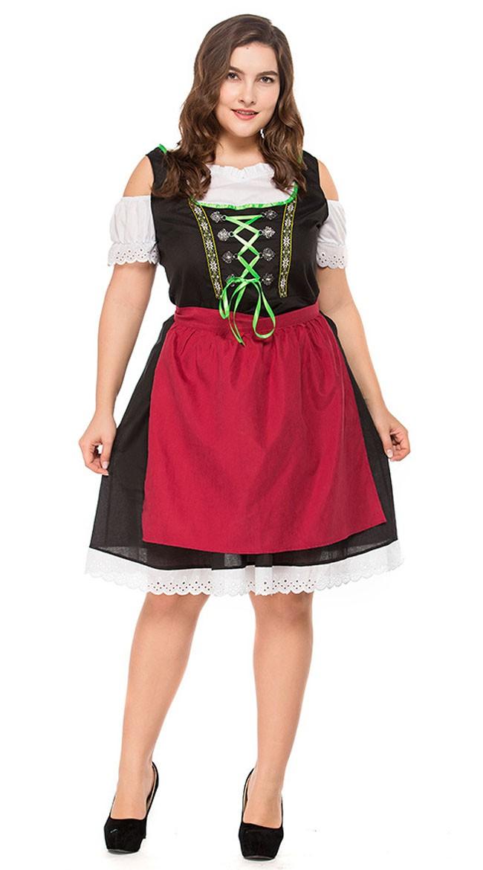 Bavarian Oktoberfest Asu Isot Koot Dirndl Heidi Mekko