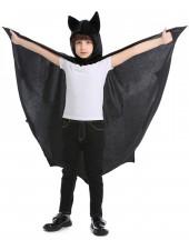 Halloween Vampyyri Asu Lapsille Hupullinen Viitta Musta