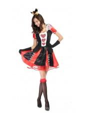 Alice In Wonderland Herttakuningatar Asu