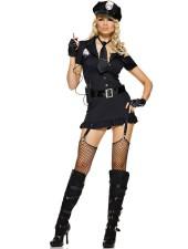 Musta seksikäs korruptoitunut poliisiasu