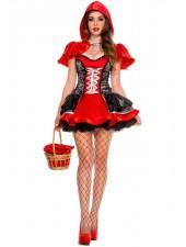 Korsetti Halloween Punahilkka Asu