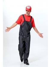 Super Mario Puku Miesten Työvaatteet