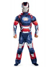 Avengers Iron Man Asu Klassinen Lihasasu Lapsille Sininen