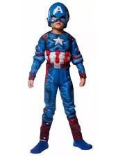 Kapteeni Amerikka Lihasasu Supersankariasu Lapsille
