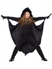 Tytöille Halloween Vampyyri Lepakko Asu Lapsille