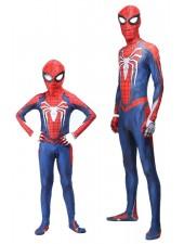 PS4 Spiderman -Asu Lapsille Ja Aikuisille Halloween Supersankariasut