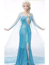 Halpa Frozen Elsa Mekko Aikuisille