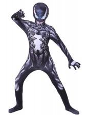 Venom Symbiote Spiderman -Asu Lapsille Ja Aikuisille Halloween Supersankariasut