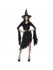 Musta Gothic Halloween Noita Asu