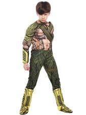 Halloween Aquaman Asu Lihasasu Lapsille Naamiaisasu