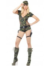 Seksikäs Army Vaatteet Military Naamiointi Puku
