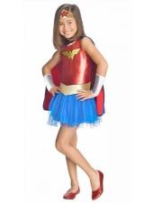 Tytöt Wonder Woman Asu Lapselle Supersankari Asut