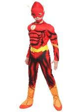 The Flash Asu Lihasasu Lapsille Halloween Supersankariasu