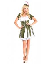 Varas Sydämet Robin Hood Puku