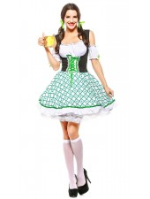 Saksalainen Tirolilaisasu Apila Cutie Oktoberfest Mekko