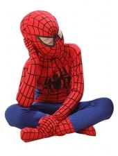 Klassinen Supersankari Spiderman Asu Lapsille Punainen