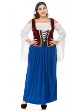 Miss Swiss Oktoberfest Asu Isot Koot Sininen
