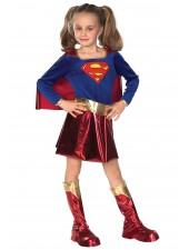 Tytöt Supergirl Asu Supersankari Asut Lapsille