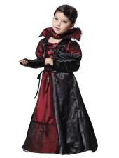 Tytöille Halloween Vampyyri Asu Juhlamekko Lapsille