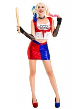 Aikuisille Seksikäs Suicide Squad Harley Quinn Puku