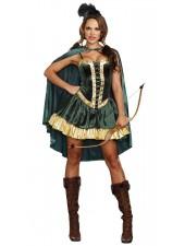 Kuninkaallinen Robin Hood Asu Naisille