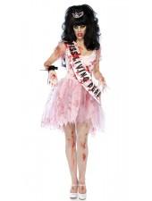 Mädäntynyt Prom Queen Zombie Puku