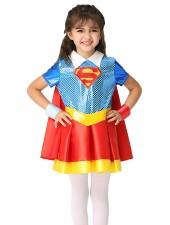 Tytöt Supergirl Asu Lapselle Supersankari Asut